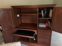 Computer Desk & Armoire in Plainfield, Illinois