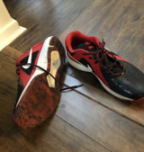 Nike Air Athletic shoes size 11 in New Lenox, Illinois