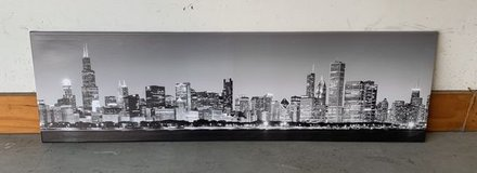 Chicago Skyline Canvas panoramic in St. Charles, Illinois