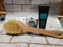himalayan mask and cactus brush all wrapped in Lakenheath, UK