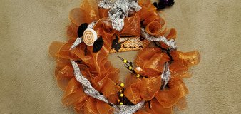 Halloween Wreath New Handmade in Bartlett, Illinois