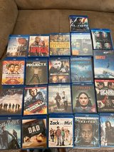 Lots of Blu Ray and DVD for sell in DeRidder, Louisiana