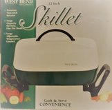 """NEVER USED!  West Bend 12"""" Electric Skillet #72292 in Spring, Texas"""