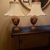2 antique table lamps in Plainfield, Illinois