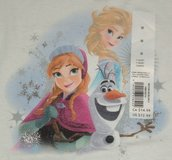 NEW Frozen 2 T-Shirt Girls Medium (10) White Elsa Anna Olaf in Yorkville, Illinois