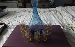 Princess house shot glasses and decanter in Houston, Texas