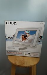 Coby 8 inch digital photo frame in Houston, Texas