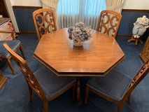 Elegant Mediterranean Style Complete Dining Room Set in Plainfield, Illinois