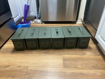Ammo cans in Camp Pendleton, California