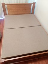 Moving sale (bed/mattress, refrigerator, couch, dish cabinet) in Okinawa, Japan