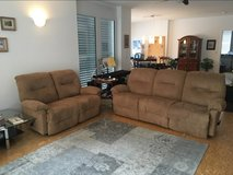 Couch and Love Seat -Reduced in Ramstein, Germany