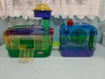 Kaytee Crittertrail hamster cages Lot 2 in Chicago, Illinois