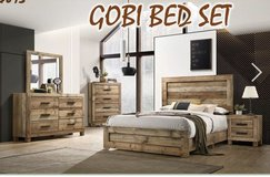 United Furniture -Full Size Gobi Bed Set complete with (Basic) Mattress + Box Frame and deliver in Wiesbaden, GE