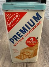 NABISCO SALTINES CRACKERS TIN in Sandwich, Illinois