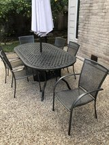 Aluminum Patio Table in Spring, Texas