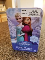 Frozen Jumbo Playing Card Games in Plainfield, Illinois