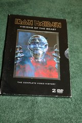IRON MAIDEN- Visions of the Beast Music DVD in Camp Lejeune, North Carolina
