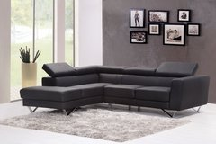 New! Contemporary BLK sectional in Camp Pendleton, California