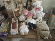 Dolls and stuffed Animal collection in Fairfield, California