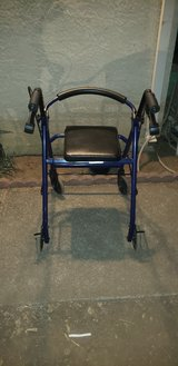 Seated walker in Vacaville, California