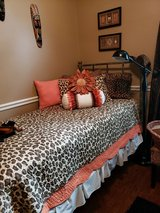 Leopard Bedding and Decor in Conroe, Texas