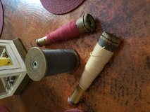 Antique Yarn Spools in Conroe, Texas