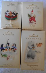 (5) HALLMARK CHRISTMAS COLLECTIBLES ORNAMENTS - BRAND NEW in Alamogordo, New Mexico