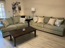 Lane Furniture 8022 Annabelle 2-Piece Living Room Set with Pillows in Leesville, Louisiana