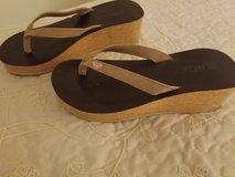 Roxy wedge sandals size 8 in Vista, California