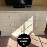 Crate + Barrel & Drawer Dresser in Naperville, Illinois