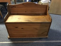 Wood Bench in Naperville, Illinois
