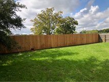 replace fence in Spring, Texas