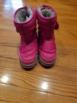 Girl's Size 9T Snow Boots in Oswego, Illinois