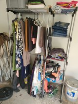 womans clothing yard sale today and tomorrow in Kingwood, Texas