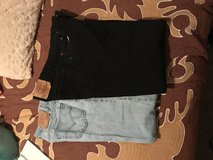 Men's Levi's jean Black and Blue W34 L34 and Wrangler 34x36 in Clarksville, Tennessee