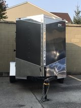 Utility Trailer Enclosed—Size 5' x 8'. RC Trailer 2019 Never Used. Title. I Have Inside and Outs... in Yorkville, Illinois