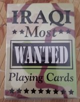 """""""Iraqi Most Wanted Playing Cards"""" Sealed """"NEW"""" in Fairfield, California"""