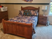 Ashley Full size kids bedroom set that converts from regular to Captains bed.  Includes SO much!! in Quantico, Virginia