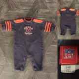 Chicago Bears baby outfit (3-6 months) in Elgin, Illinois