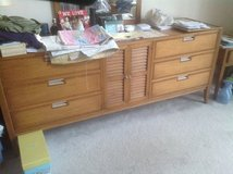 Mid Century Modern Bedroom Set in Naperville, Illinois