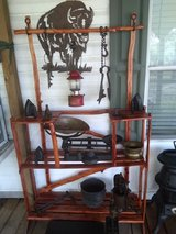 Plant stand in DeRidder, Louisiana