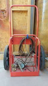 Oxy acetylene torch and cart in Alamogordo, New Mexico