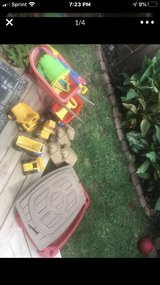 step 2 sand table and toys in Kingwood, Texas