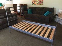 IKEA HEIMAL Metal Twin Bed Frame in Naperville, Illinois
