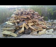 full truck load of firewood in Yucca Valley, California
