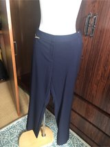 Ellen Tracy Navy pants with tag size 8 in Okinawa, Japan