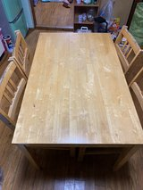 4set dining table in Okinawa, Japan
