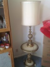 Vintage Matching Table and Lamp in Batavia, Illinois