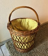 Wicker Laundry Basket in Spangdahlem, Germany