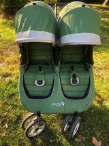 Baby Jogger City Mini Double Stroller, Evergreen/Gray in Warner Robins, Georgia